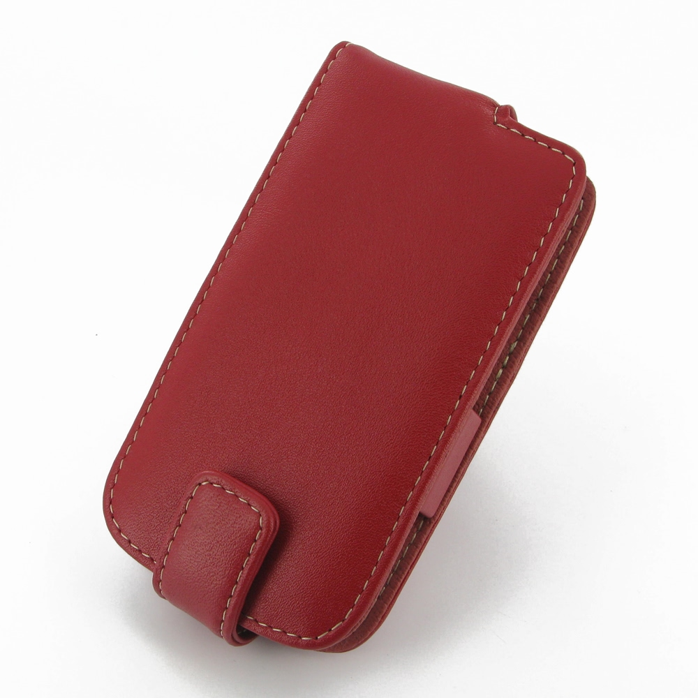 Samsung Galaxy Ace 3 Leather Flip Case Red PDair
