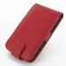 Samsung Galaxy S2 Epic Leather Flip Top Case (Red) offers worldwide free shipping by PDair