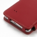 Samsung Galaxy Note 4 Leather Flip Cover (Red) handmade leather case by PDair