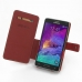 Samsung Galaxy Note 4 Leather Flip Cover (Red) top quality leather case by PDair
