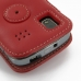 Samsung Focus Leather Flip Cover (Red) protective carrying case by PDair