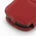 Samsung Focus Leather Flip Cover (Red) handmade leather case by PDair