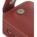 Samsung Omnia i908 i900 Leather Flip Case (Red) genuine leather case by PDair