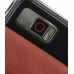 Samsung Omnia i908 i900 Leather Flip Case (Red) top quality leather case by PDair