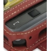 Samsung Omnia i908 i900 Leather Flip Case (Red) custom degsined carrying case by PDair
