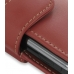 Samsung Omnia i908 i900 Leather Holster Case (Red) handmade leather case by PDair