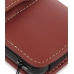 Samsung Omnia i908 i900 Leather Holster Case (Red) genuine leather case by PDair