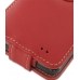 Samsung Galaxy S2 Leather Flip Case (Red) genuine leather case by PDair