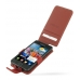 Samsung Galaxy S2 Leather Flip Case (Red) custom degsined carrying case by PDair