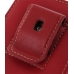 Samsung Galaxy S2 Pouch Case with Belt Clip (Red) protective carrying case by PDair