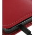 Samsung Galaxy S2 Pouch Case with Belt Clip (Red) handmade leather case by PDair
