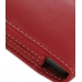 Samsung Galaxy S2 Pouch Case with Belt Clip (Red) genuine leather case by PDair