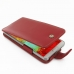 Samsung Galaxy Note 3 Leather Flip Case (Red) offers worldwide free shipping by PDair