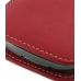 Samsung Galaxy Nexus Leather Sleeve Pouch Case (Red) protective carrying case by PDair