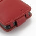 Samsung Galaxy R Leather Flip Case (Red) handmade leather case by PDair