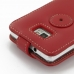 Samsung Galaxy S2 Plus Leather Flip Top Case (Red) handmade leather case by PDair