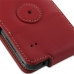 Samsung Galaxy Ace Plus Leather Flip Case (Red) protective carrying case by PDair