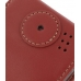 Samsung SGH-i780 Leather Flip Case (Red) protective carrying case by PDair