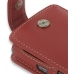 Samsung SGH-i780 Leather Flip Case (Red) genuine leather case by PDair