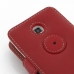 Samsung Galaxy Player 4.2 Leather Flip Cover (Red) protective carrying case by PDair