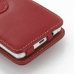 Samsung Galaxy Player 4.2 Leather Flip Cover (Red) handmade leather case by PDair