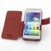 Samsung Galaxy Player 4.2 Leather Flip Cover (Red) top quality leather case by PDair