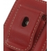 Sony Walkman NWZ-X1050 X1060 X1000 Pouch Case with Belt Clip (Red) protective carrying case by PDair