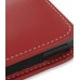 Sony Walkman NWZ-X1050 X1060 X1000 Pouch Case with Belt Clip (Red) genuine leather case by PDair