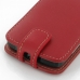 ZTE Skate Leather Flip Top Case (Red) handmade leather case by PDair
