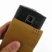 Garmin nuvifone A50 Leather Flip Case (Brown) handmade leather case by PDair