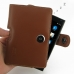 BlackBerry Passport Pouch Leather Holster Case (Brown) top quality leather case by PDair