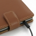 BlackBerry Passport Leather Flip Top Case (Brown) protective carrying case by PDair