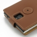 BlackBerry Passport Leather Flip Top Case (Brown) handmade leather case by PDair