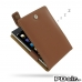 BlackBerry Passport Leather Flip Top Case (Brown) best cellphone case by PDair
