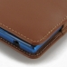 BlackBerry Passport Pouch (in Slim Cover) Pouch Clip Case (Brown) protective carrying case by PDair