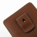 BlackBerry Passport Pouch (in Slim Cover) Pouch Clip Case (Brown) top quality leather case by PDair