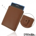 BlackBerry Passport Pouch (in Slim Cover) Pouch Clip Case (Brown) best cellphone case by PDair