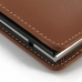 BlackBerry Passport Pouch Leather Sleeve Pouch Case (Brown) protective carrying case by PDair