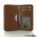 LG G3 Leather Wallet Sleeve Case (Brown) offers worldwide free shipping by PDair
