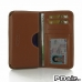 Motorola DROID Turbo Leather Wallet Sleeve Case (Brown) offers worldwide free shipping by PDair