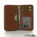 Samsung Galaxy E7 Leather Wallet Sleeve Case (Brown) offers worldwide free shipping by PDair