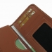 Samsung Galaxy A7 Leather Wallet Sleeve Case (Brown) handmade leather case by PDair