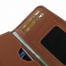Sony Xperia Z1 Leather Wallet Sleeve Case (Brown) handmade leather case by PDair