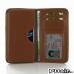 Sony Xperia Z1 Leather Wallet Sleeve Case (Brown) offers worldwide free shipping by PDair