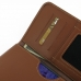 Samsung Galaxy Note 4 Leather Wallet Sleeve Case (Brown) genuine leather case by PDair
