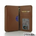 Samsung Galaxy Note 4 Leather Wallet Sleeve Case (Brown) offers worldwide free shipping by PDair