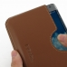Samsung Galaxy Note Edge Leather Wallet Sleeve Case (Brown) handmade leather case by PDair