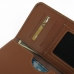 Samsung Galaxy Note Edge Leather Wallet Sleeve Case (Brown) genuine leather case by PDair