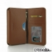 Samsung Galaxy Note 2 Leather Wallet Sleeve Case (Brown) offers worldwide free shipping by PDair