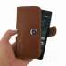 Huawei Honor 4C Leather Holster Case (Brown) genuine leather case by PDair